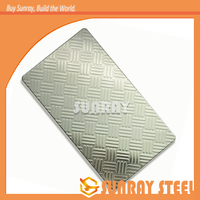 best price embossed anti-fingerprint coating stainless steel 201 for buildings