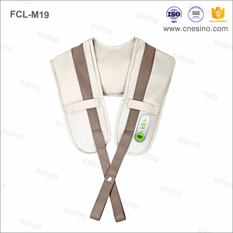 FCL-M19 Neck Massager with Vibration and Tapping Function with heat Therapy