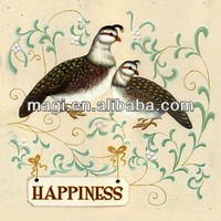 Lovely Bedroom Canvas Birds Oil Painting