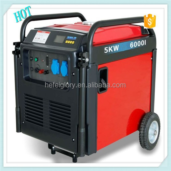 2015 NEWEST 5kw 6000i Digital Inverter Generator For Sale