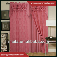 Latest New Models 2016 Alibaba Supplier Luxury Printing Curtains Designs Photos
