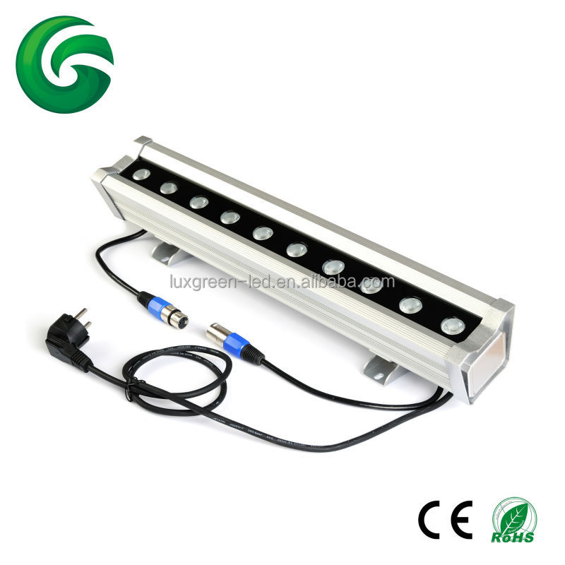 RGBW(4IN1) 10*8W dmx wall washer light 3-pin xlr R,G,B,<strong>W</strong> common anode CE ROHS SAA with build-in DMX controller 3 years warranty