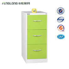 OFFICE FURNITURE 3 DRAWERS FILING CABINET COLOR STEEL FILING CABINET