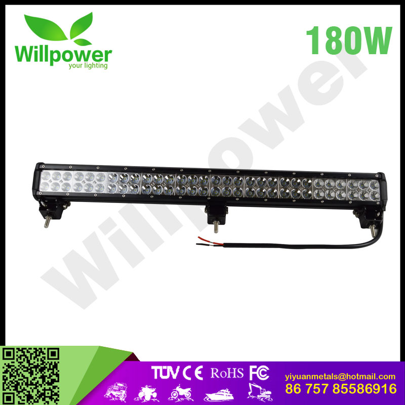 "car accessories 28""inch 180W watt combo led hanging bar light for wholesales"