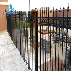 Factory price reasonable price heavy duty galvanized gates and steel fence panels design