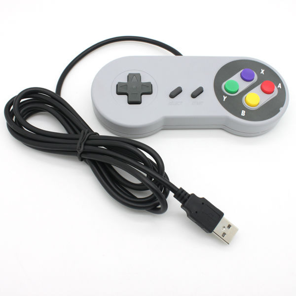 High quality video game wired Classic <strong>Controller</strong> For SNES game joystick for nintendo USB <strong>controller</strong>