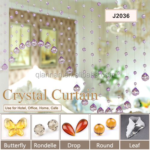 Crystal beads curtains Screens hanging curtain crystal door curtain