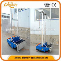 Auto Cement Plastering Machine For Wall Machine has cement mortar