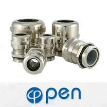 m50 nickel plated brass cable gland hawke cable gland