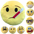 Custom Cartoon Charater Kids Plush Emoji Pillows