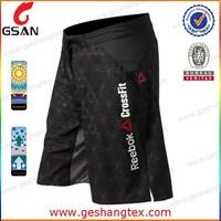 Custom printed design men crossfit shorts