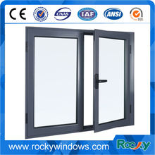 Shopping European Standard Aluminium Casement Glass Window With Triple Glass