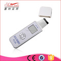 Portable home use skin rejuvenation ultrasonic skin scrubber
