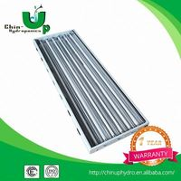 Hydroponics grow light T5 fixture /4x2 t5 hydroponic for seeding bed