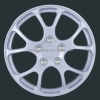 "ABS Materials 13""14"" Size Silver Finishing Design Wheel Cap Type Car Wheel Cover"