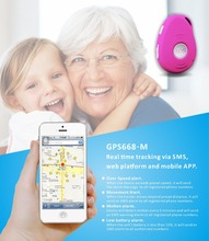 3G elderly caringl real time tracking device mini personal gps tracker