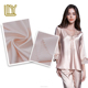 50D*50D elasticity woven satin fabric for high grade nightwear shirt China factory price