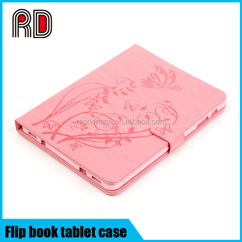 For Samsung T815/T715/T560/T550/230/T377/T280 Tablet Stand embossing Leather Case cover
