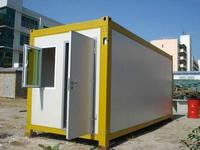 Move-in Strong steel frame Shipping Container Homes/container house wall cladding