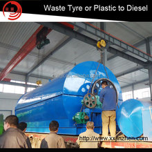 Professional installation guidance oil extracting machine using waste plastic