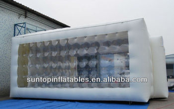 most durable clear inflatable transparent tent with high quality