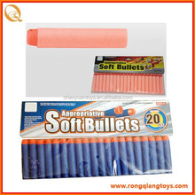 2015 nerf darts, Round Head Soft Bullet Darts For nerf toy gun,20pcs/bag GS02490120