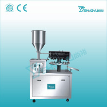 High quality aluminum tube filling and sealing machine/semi auto toothpaste aluminum tube filler and sealer
