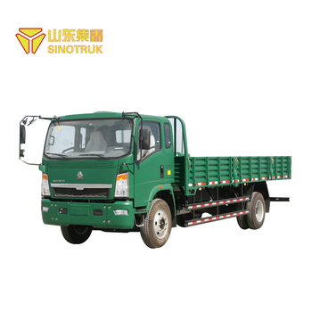 Popular China brand sinotruk howo small 4x2 cargo truck for sale