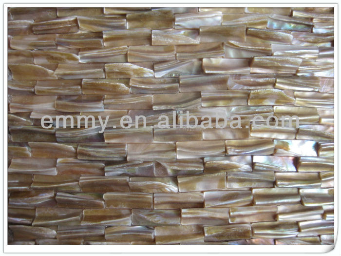 Fresh water river Shell tooth shell mosaic walltiles