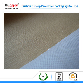 2017 new antirust steel plate wrapping pe vci woven laminated paper