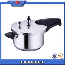 High quality 2-9L stainless steel commercial cookware pressure cooker
