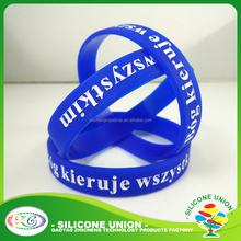 fanshional mixed silicone wristband/cheap custom embossed silicone bracelets rubber bangle