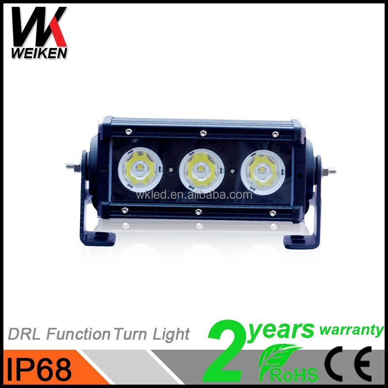 "Crees CE RoHs 30w 6"" Marine Led Light Bar Mount Offroad Track Jeep Led 4x4 Light Bar Reflector"