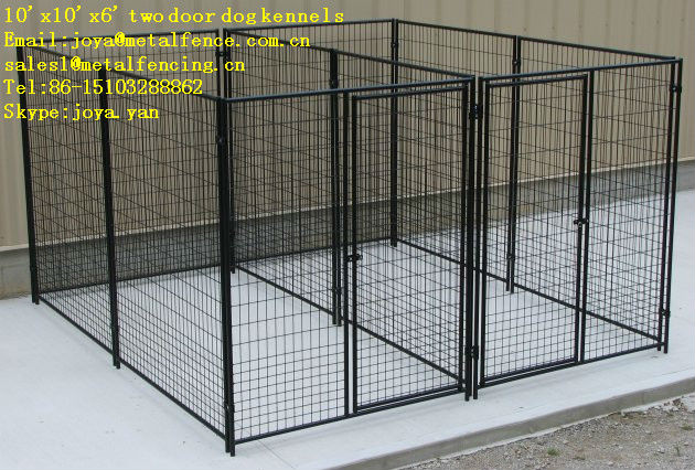 Colored metal fabric outdoor galvanized dog house