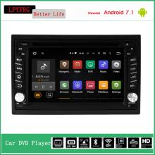 2 din quad core android 7.1 car stereo dvd gps player for nissan navara d40 altima x-trail accesorios para dab+ dvr cam tpms