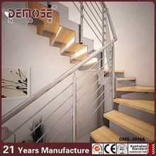 hardwood stair treads / stairs floating / stair casings