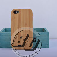 Wholesale Popular Genuine Real Wood Bamboo Hard Case Back Cover for Wiko Lenny bamboo case fast delivery