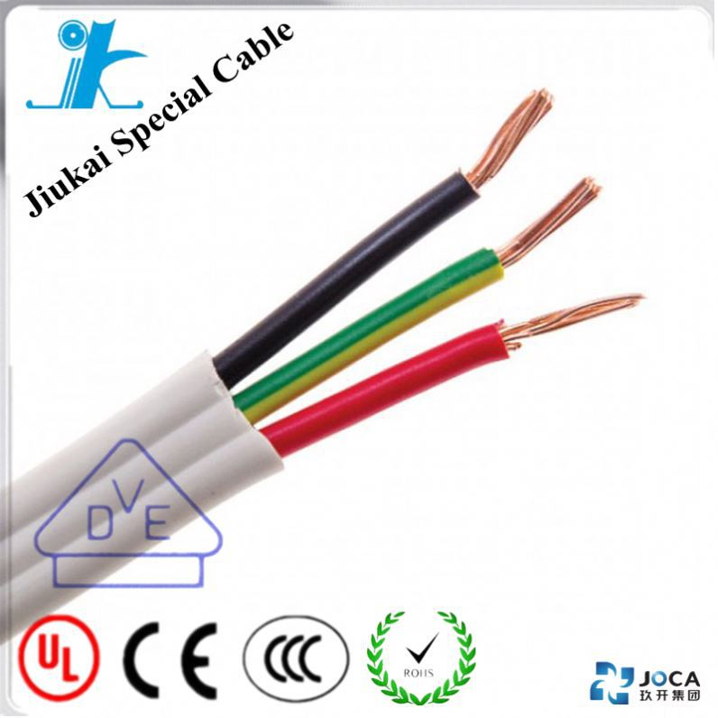 Australia standard tps flexible wire 2*10mm+E electric cable SAA approved copper PVC Flat TPS cable
