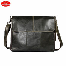 more functions leather hand/shoulder bags for men