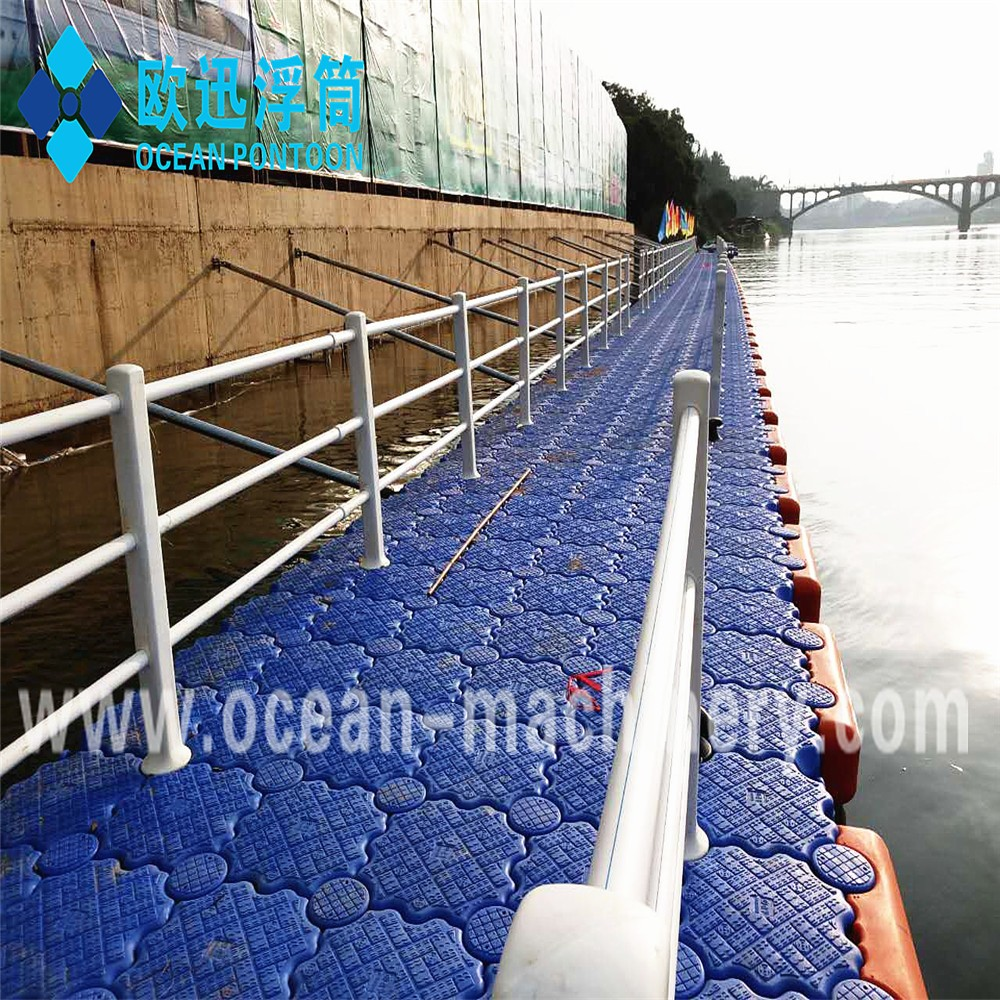 Brand new jetty plastic floats Exported to Worldwide