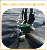 0.2mm~4mm HDPE geomembrane for Traffic facilities