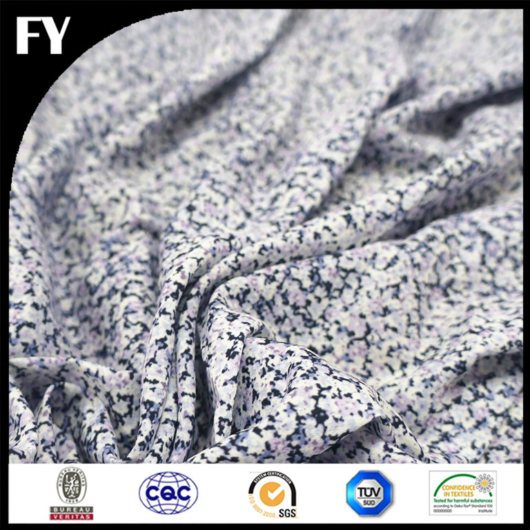 2016 Factory direct custom high quality digital polyester polypropylene blend fabric