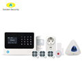 2018 G90B Plus new version alarm system GSM(2G/3G) smart home security alarm system WiFi SMS anti-theft alarm wireless wired