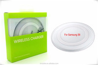 New Genuine Wireless Fast Charger For Samsung GALAXY S6 wireless charger power bank