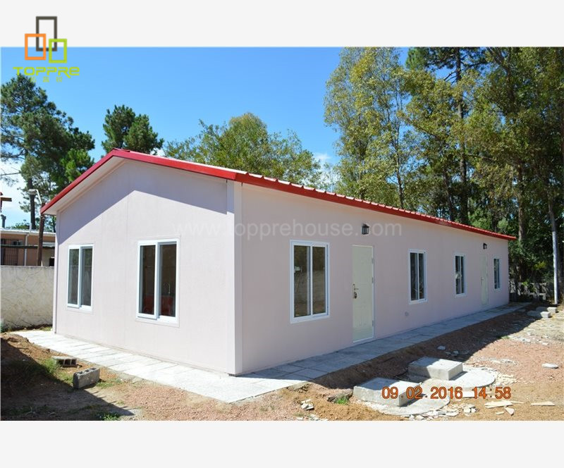 China Prefabricated light steel movable house mobile home in usa