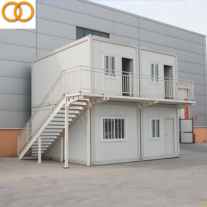 Accogliente 20ft prefabbricata del contenitore casa in vendita eco mobile prefabbricata del - Casa container prezzo ...