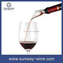 Plastic wine aerator wine pouer with filter