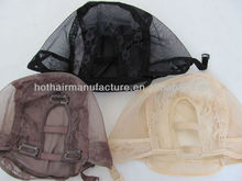 10pcs/Lot Small/Medium/Large Size Adjustable Swiss Lace U Part Wig Cap In Stock Free Cute Gifts