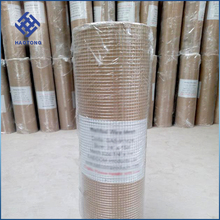 galvanized 1x1 welded wire mesh size