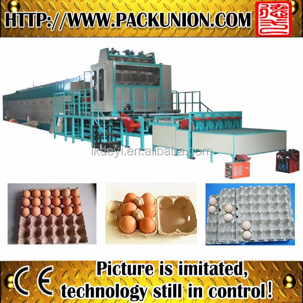 plastic egg tray moulding machine